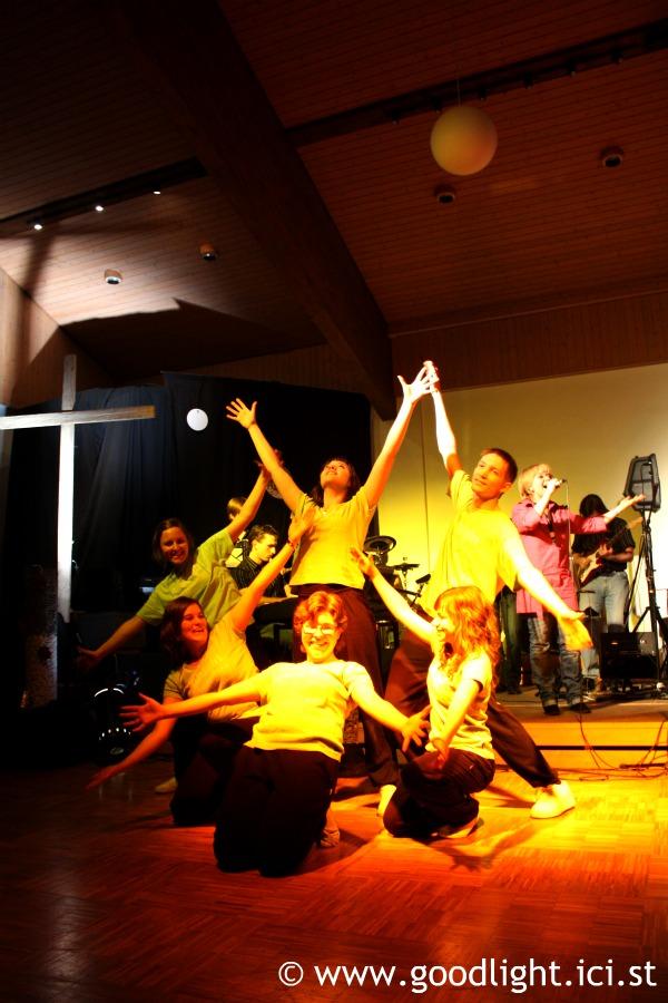 Concert avec le groupe Gospel Empreinte